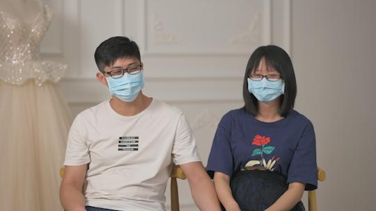 抗疫新人接受访谈,讲述抗疫爱情故事.png